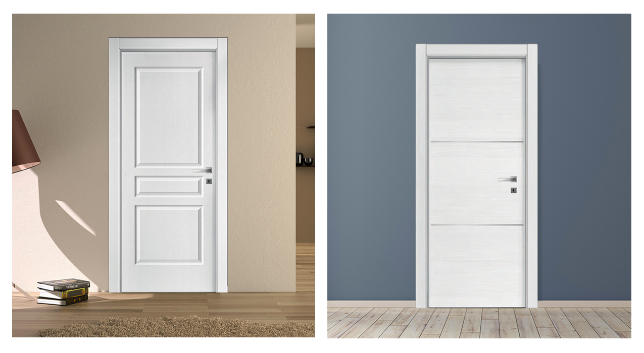 Colori Porte Interne Moderne porte bianche moderne da interno - porte interne portestore